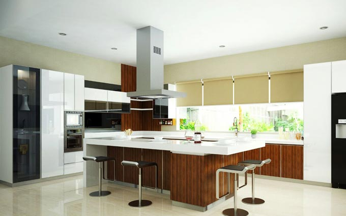 CMS Home Interior - Kitchen